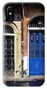 Blue Arch Door IPhone Case
