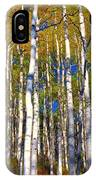 Blue Aspen On Grand Mesa IPhone Case