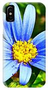 Blue Aster In Park Sierra Near Coarsegold-california   IPhone Case