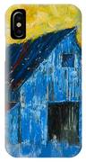 Blue Barn Number One IPhone Case