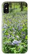 Blue Bells IPhone Case