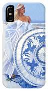 Blue Berry Beach  IPhone Case