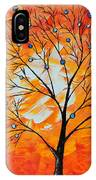 Blue Berry Tree IPhone Case