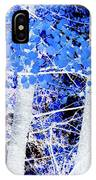 Blue Birch Trees IPhone Case