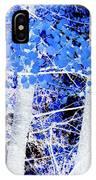 Blue Birch Trees IPhone Case