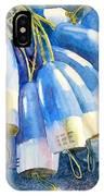 Blue Bundle IPhone Case