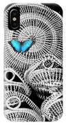 Blue Butterfly Charleston IPhone Case