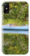 Blue Canoe IPhone Case