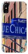 Blue Chicago Club IPhone Case