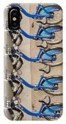 Blue City Bikes IPhone Case