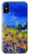 Blue Cornflowers 774180 IPhone Case