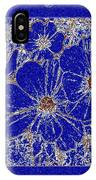 Blue Cosmos Abstract IPhone Case