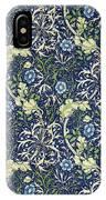 Blue Daisies Design IPhone Case