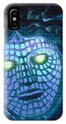 Blue Demon IPhone Case