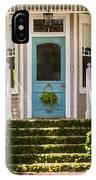 Blue Door  Ivy Stairs IPhone Case
