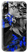 Blue Drippings IPhone Case