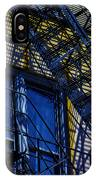 Blue Fire Escape IPhone Case
