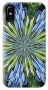 Blue Flower Star IPhone X Case