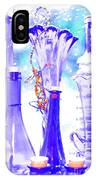 Blue Glass And Gecko IPhone Case