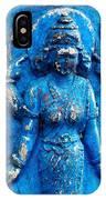 Blue Goddess IPhone Case