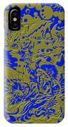 Blue Gold 40 IPhone Case