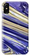 Blue Gold IPhone Case