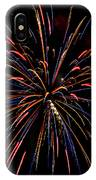 Blue Gold Pink And More - Fireworks And Moon IPhone Case
