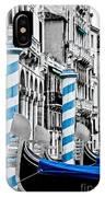 Blue Gondolas IPhone Case