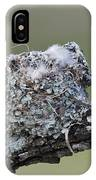 Blue-gray Gnatcatcher Nest IPhone Case