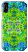 Blue Green Mandala IPhone Case