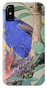 Blue Grosbeak Guiraca Caerulea IPhone Case