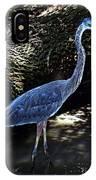 Blue Heron 8 IPhone Case