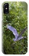 Blue Heron Journey I IPhone Case