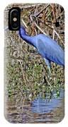 Blue Heron Louisiana IPhone Case