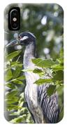 Blue Heron Profile IPhone Case