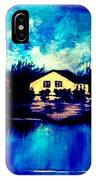 Blue House  IPhone Case