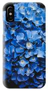 Blue Hydrangea 1 IPhone Case
