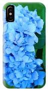 Blue Hydrangea Flower Art Prints Nature Floral IPhone Case