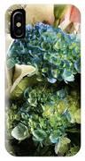 Blue Hydrangeas Painterly IPhone Case