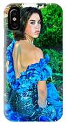 Blue Ice Princess IPhone Case