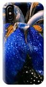 Blue Iris IPhone X Case