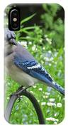 Blue Jay 105 IPhone Case