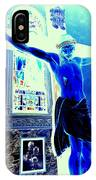 Blue Jesus IPhone Case