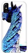 Blue Kelpie IPhone Case