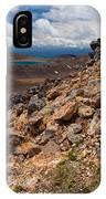 Blue Lake Of Tongariro National Park New Zealand IPhone Case