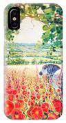 Blue Mare's English Summer Garden IPhone Case
