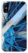 Blue Mg Wire Spoke Rim IPhone Case