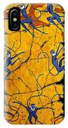 Blue Monkeys No. 41 IPhone Case