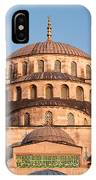 Blue Mosque Domes 02 IPhone Case