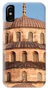 Blue Mosque Domes 03 IPhone Case